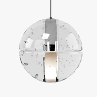 3d model bocci 14 standart lamp light