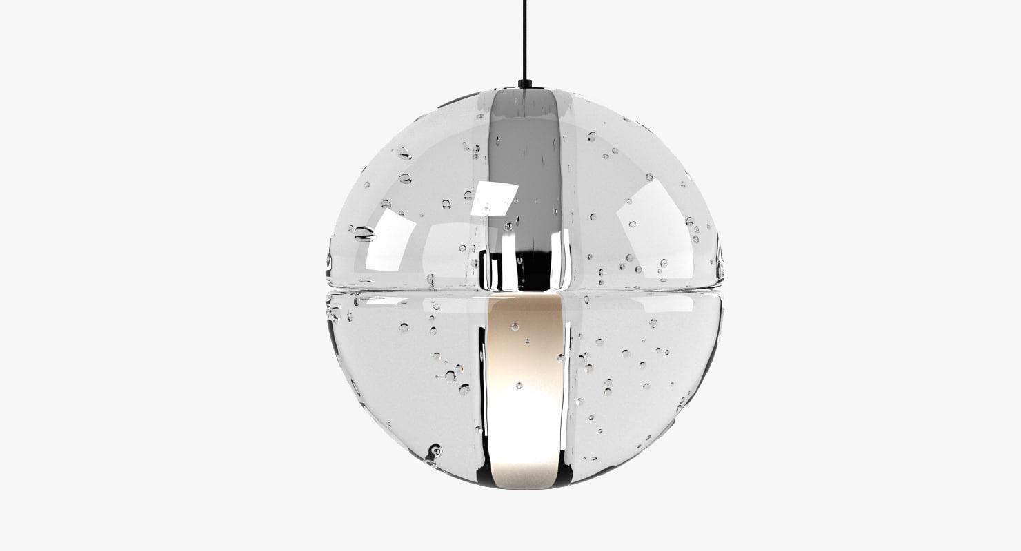 3d model bocci 14 standart lamp light