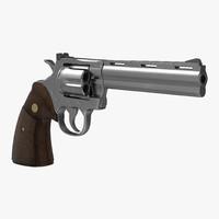 generic revolver 3d max