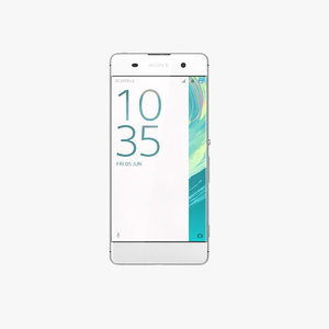 3d model sony xperia xa white