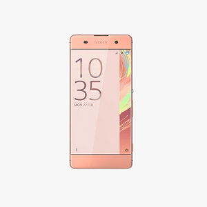 sony xperia xa rose 3d 3ds