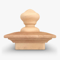 realistic nantucket finial 03 max