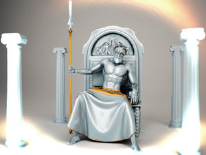 ancient god statue max