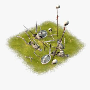 3d cartoon battlefield