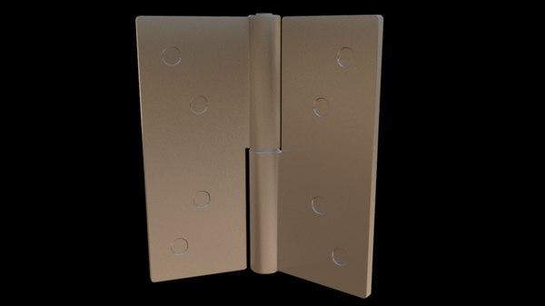 3d simple hinge model