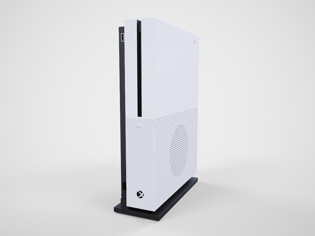 3d xbox s model