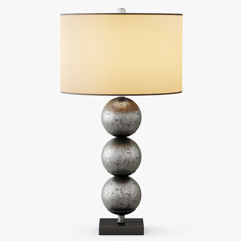 orb table lamp 3d max