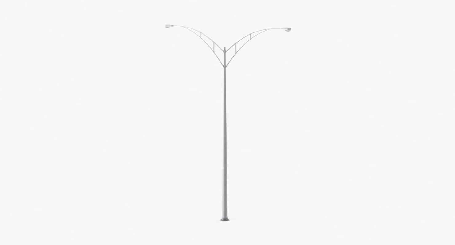 highway lamp 3d max