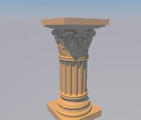 3d pilar