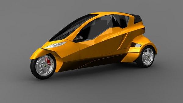 vehicle electric tilting obj
