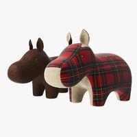 Hippo Plush