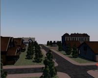 street scene c4d