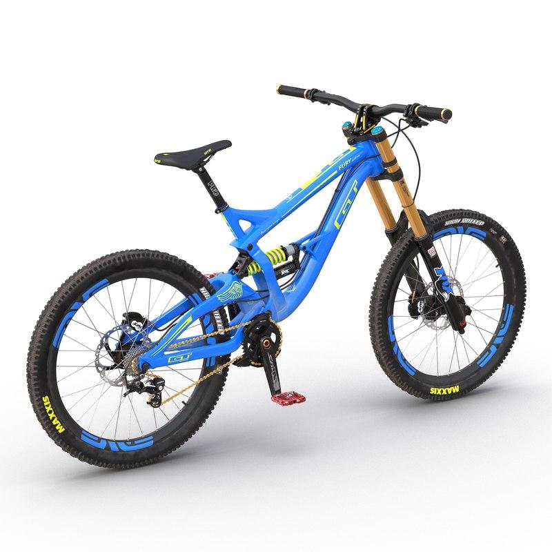 mountain bike gt fury 3ds