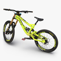 3d model mountain bike gt fury