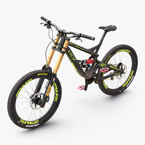 3d mountain bike gt fury model