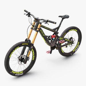 3d mountain bike gt fury model