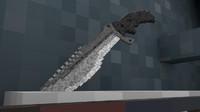 3d gun pack: knife model