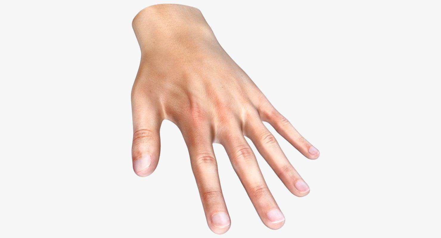 dxf human hand