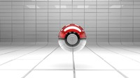 3d model pokball ball