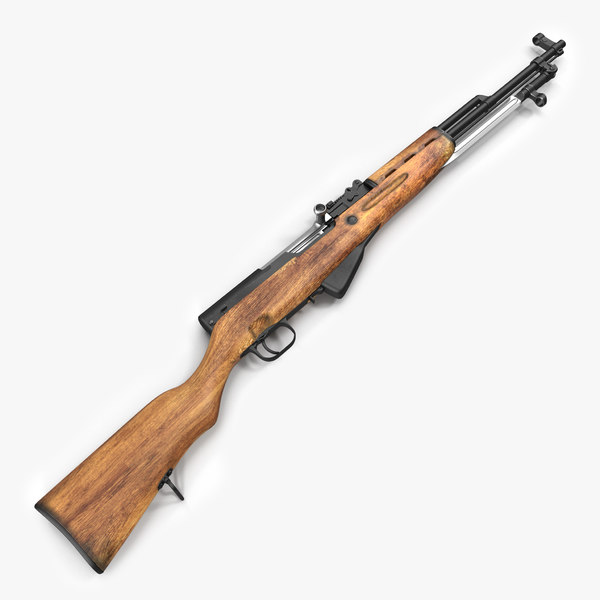 3d soviet semi automatic carbine model