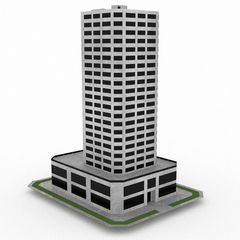 office build 33 3d 3ds