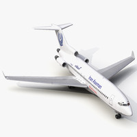 Boeing 727-100 Private Iran Aseman Airlines 3D Model