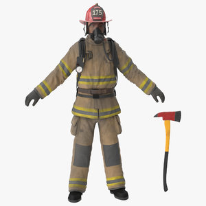 firefighter fighter 3d max