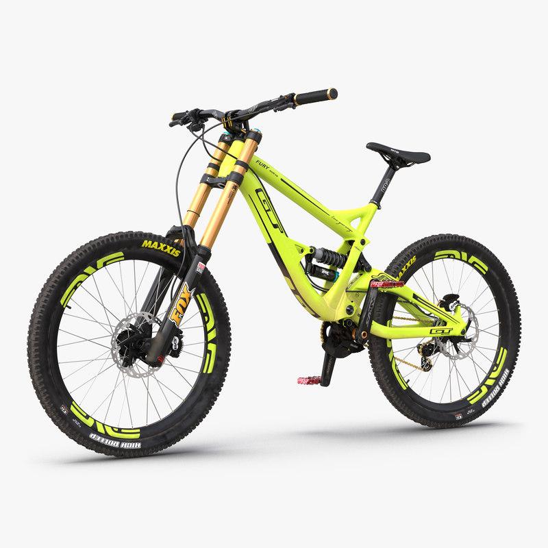 mountain bike gt fury max
