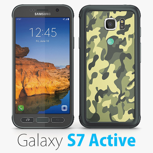3d samsung galaxy s7 active