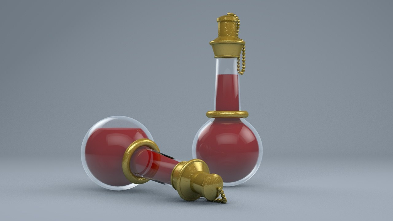 3d healing potion greater