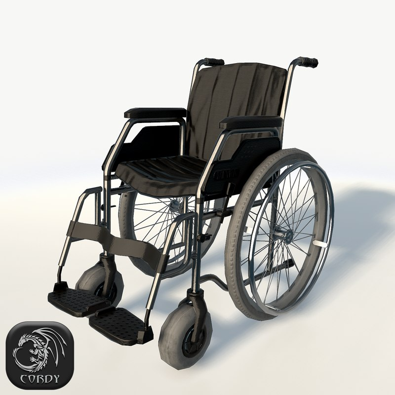 wheel chair 3ds