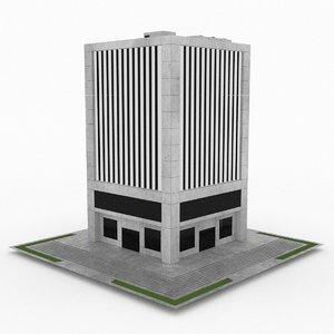 office build 34 obj