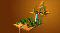 Game Asset- Tree Collection