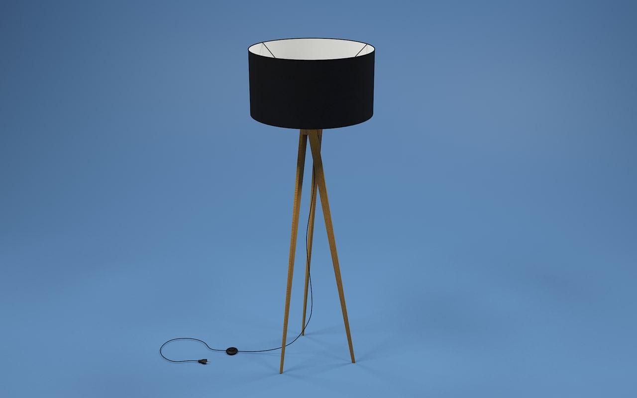 max tripod floor lamp