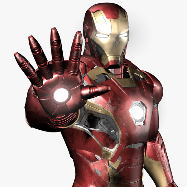 3d iron man avengers mark