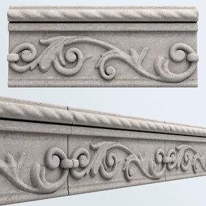 3d model decorative tiles seamless