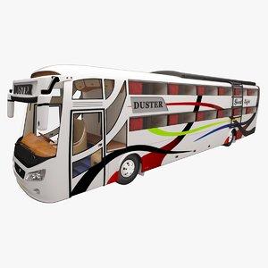 good sleeping coach travels c4d