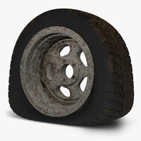 wreck flat tire rusty 3ds