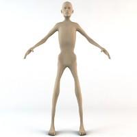 3d model characters caucasian male