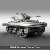 M4A1 Sherman - Duplex Drive