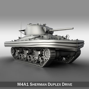 3d obj - tanks duplex drive