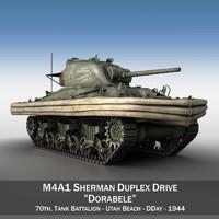 M4A1 Sherman - Duplex Drive - Dorabele