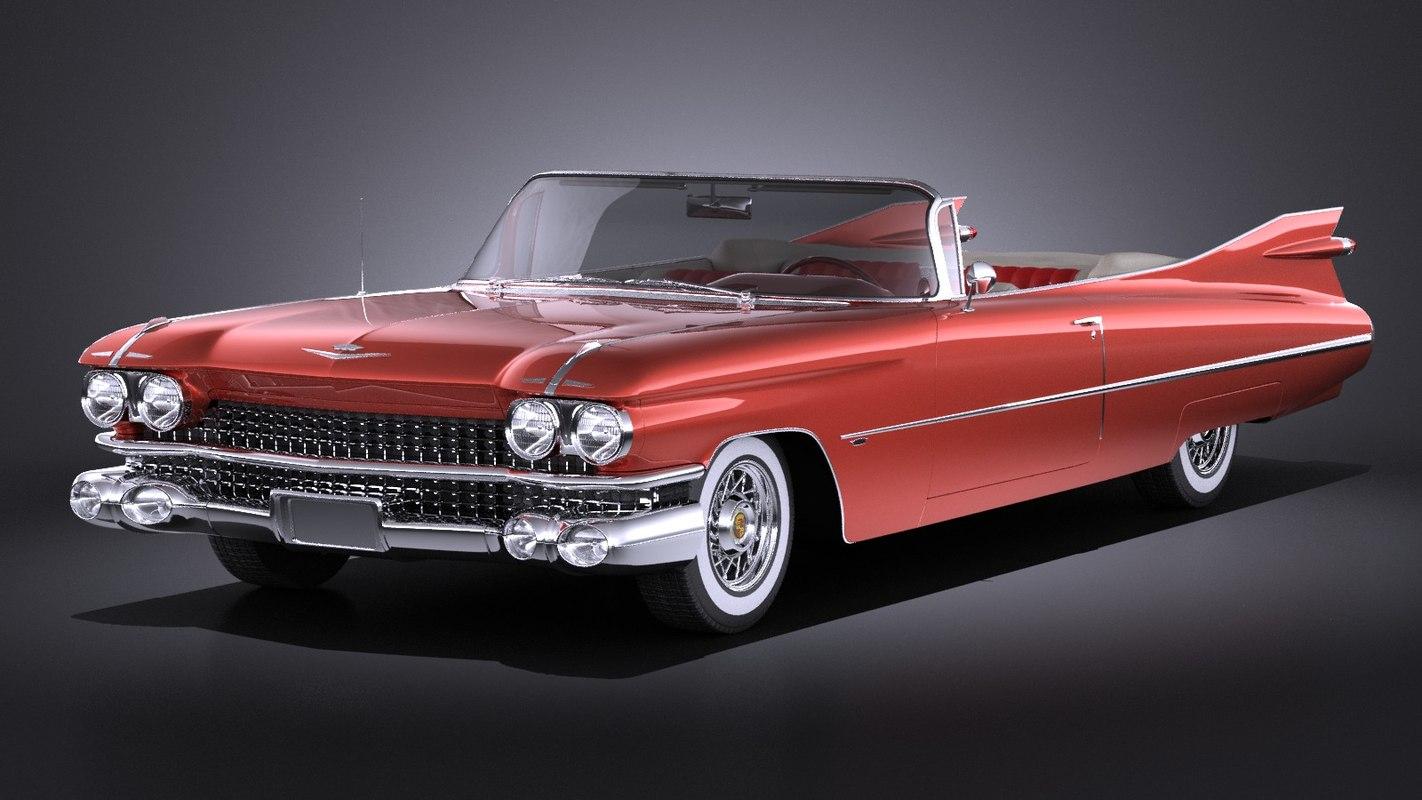 3d 3ds cadillac eldorado 1959