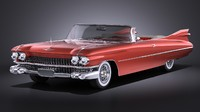 Cadillac Eldorado 1959 Convertible VRAY