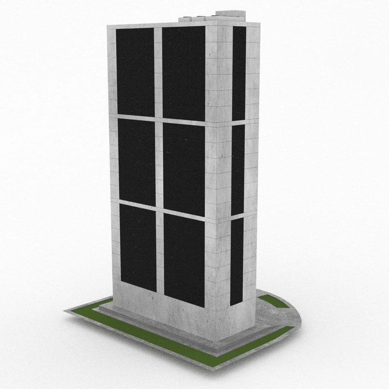 3d office build 35 model