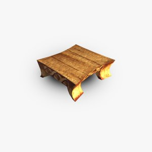 coffee table obj free