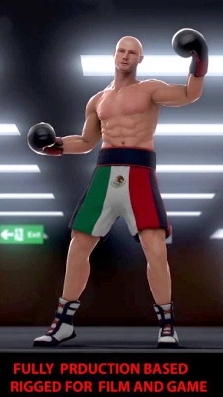 3d boxer rigg