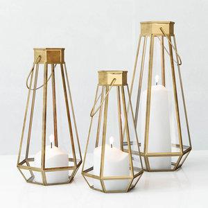 west faceted lanterns 3d max