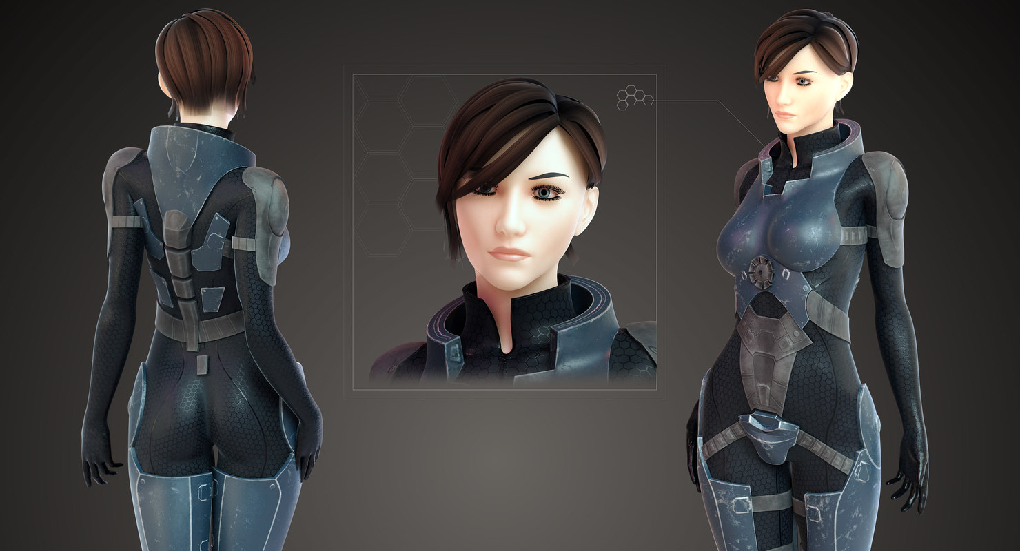 sci fi girl (With images) | Sci fi, Art inspiration, Art