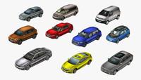 modern cars 3d max